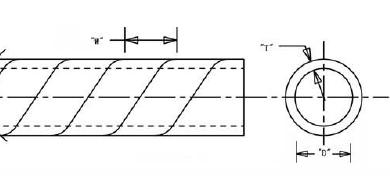 Трубка изоляционная спиральная