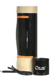 Армированный стекловолокном термоусадочный оборачиваемый рукав HBRA с заплаткой для наклонно‐направленного бурения