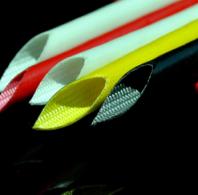 Оплетка из стеклопластика покрытая силиконом