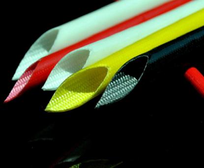 Оплетка из стеклопластика покрытая силиконом 4-7кВ